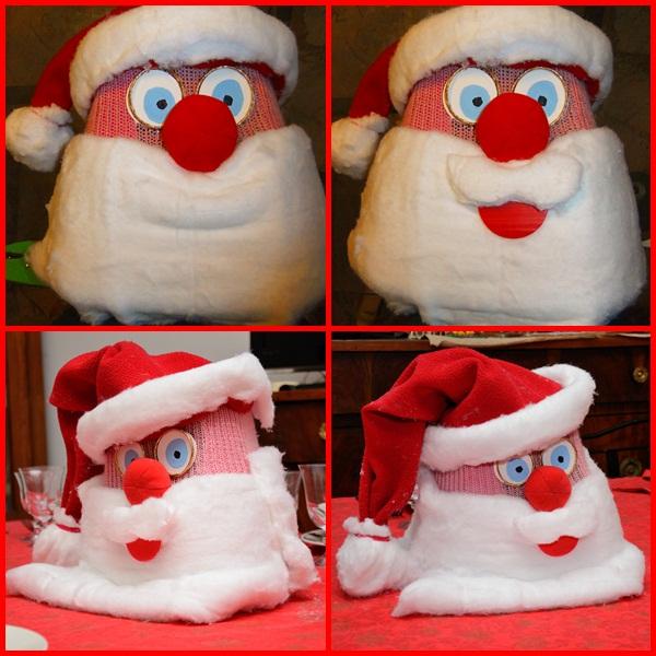 Babbo Natale Fatto Con I Bicchieri Di Plastica.Studiamando Liberamente 2012