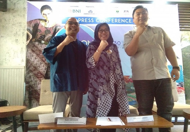 Press Conference Fashion Fair 2018 Surabaya