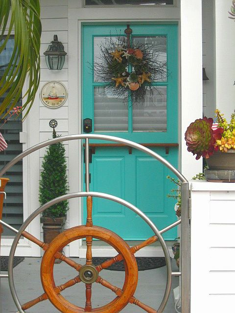 Sunset Coast Beach Style Decor And Wreaths