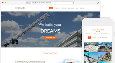 Megalith-Construction Wordpress Theme