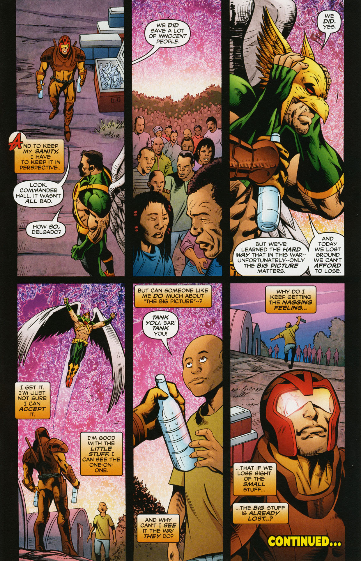 Read online Trinity (2008) comic -  Issue #34 - 31