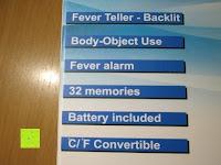 Funktion: GHB Kontaktloses Infrarot Stirnthermometer Fieberthermometer Köperthermometer Temperature für Baby und Haushalt