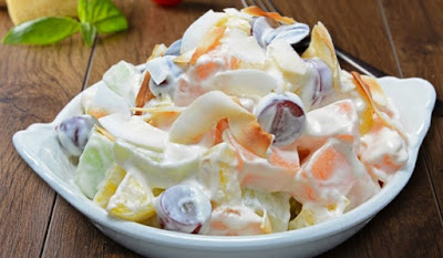 Resep Membuat Salad Buah Ala Pizza Hut Miresep