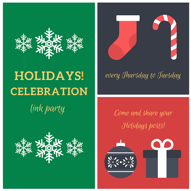 Holidays Celebration Link Party