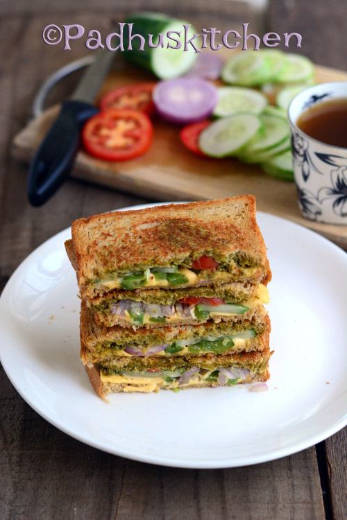 Pesto Sandwich-Basil Pesto Sandwich