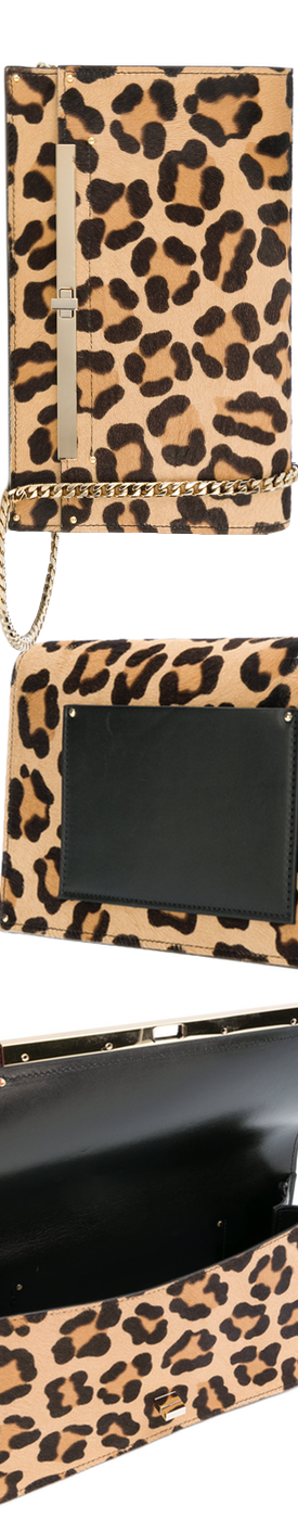 CASADEI  leopard effect crossbody bag