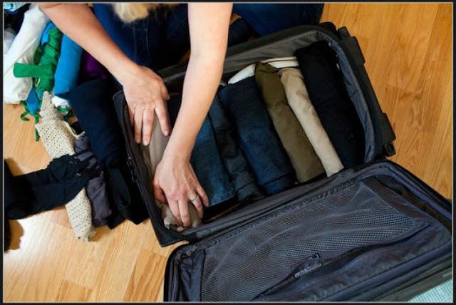 Tips Mengepak Barang Bawaan untuk Bepergian