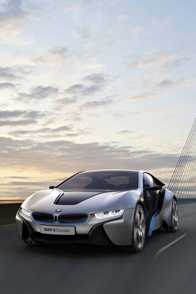 iPhone Wallpapers Pictures: BMW i8