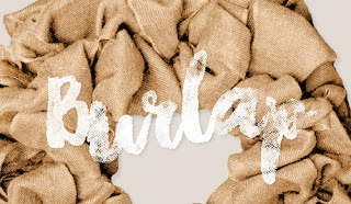 Burlap Home Decor for Fall
