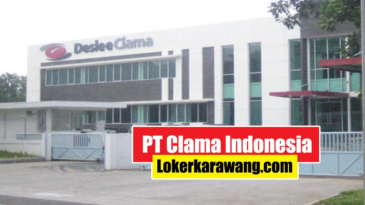 Lowongan Kerja PT Clama Indonesia Purwakarta 2020
