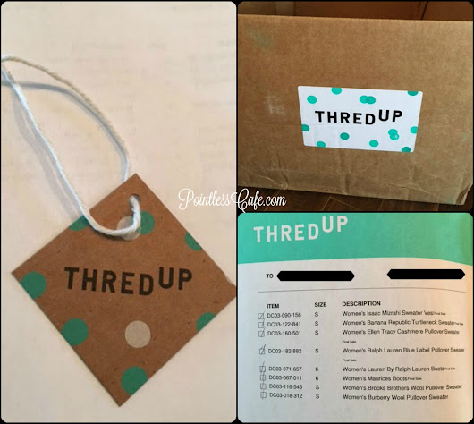 Preparing for FALL! with ThredUp - Review of ThredUp         |          Pointless Cafe