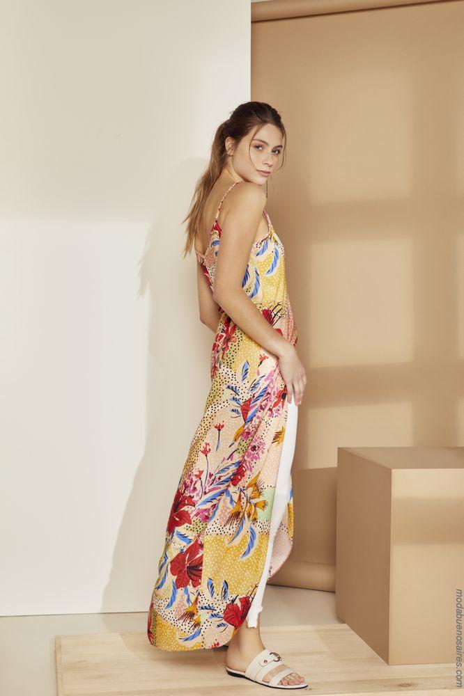 Vestidos primavera verano 2019. Moda mujer ropa primavera verano 2019.