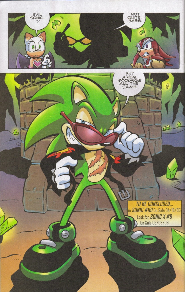 Read online Sonic The Hedgehog comic -  Issue #160 - 22