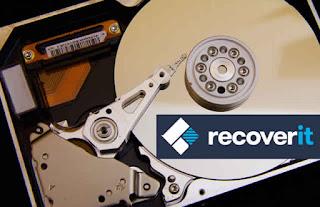 Cara Recovery Harddisk Dengan Wondershare Recoverit