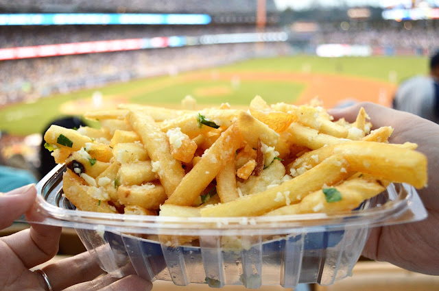 Dodger Stadium garlic fries