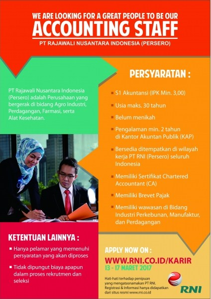 Lowongan Kerja PT.RNI (Persero)