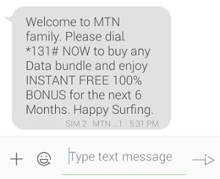 mtn family 100% double data bonus