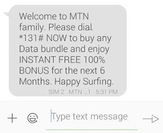 mtn family 100% double data bonus