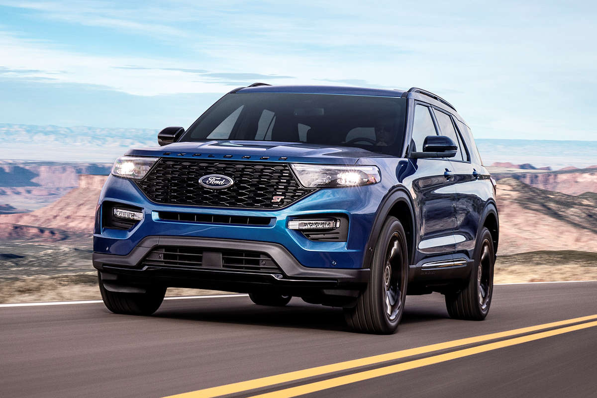 The 2020 Ford Explorer St Is Faster Than A Range Rover Sport W 13 Photos Carguide Ph Philippine Car News Car Reviews Car Prices