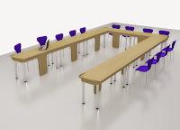 Interior Ruang Meeting - Meja Meeting Pesanan Cepat Semarang - Conference Table quick production