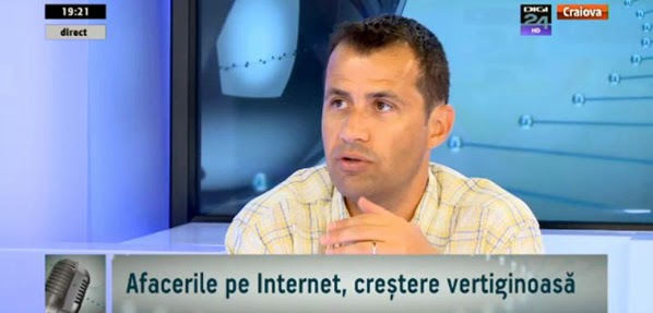 Despre internet, natural, la Digi24