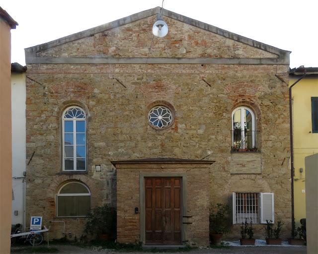 Former building of the Chiesa Cristiana Libera , Via degli Asili, Livorno