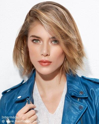 Moda Cabellos: Cortes de pelo mediano lacio para mujeres 2017