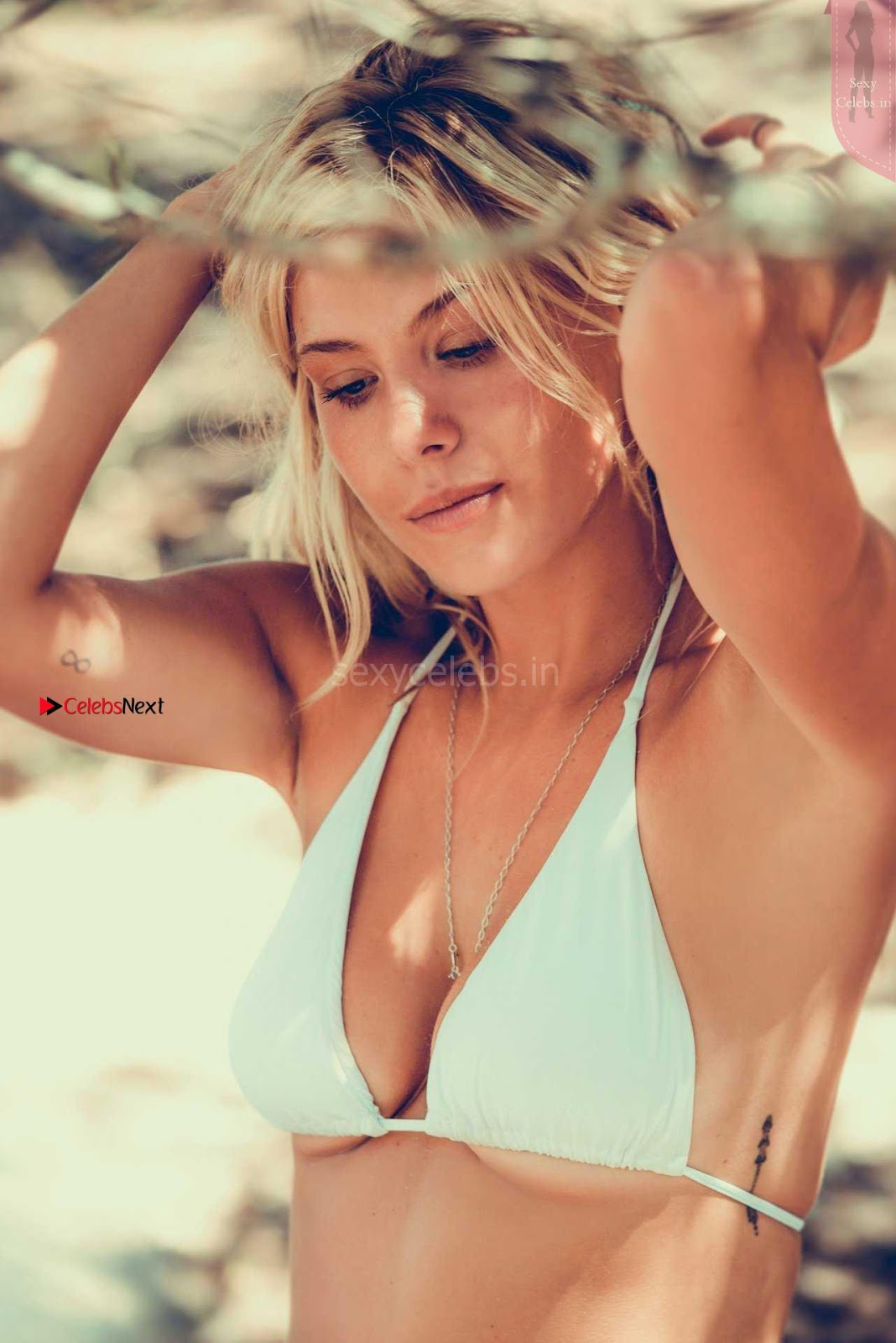 Frankie Gaff looks stunning beautiful sexy hot for Grace Jacobs Swimwear WOW