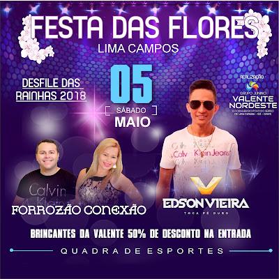FESTA DAS FLORES 2018 EM LIMA CAMPOS