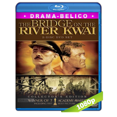 El Puente Sobre El Rio Kwai (1957) BRRip Full 1080p Audio Trial Latino-Castellano-Ingles 5.1