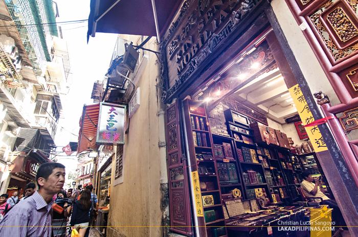Unesco Alley Macau China