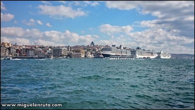 Bósforo-Estambul-Turquía