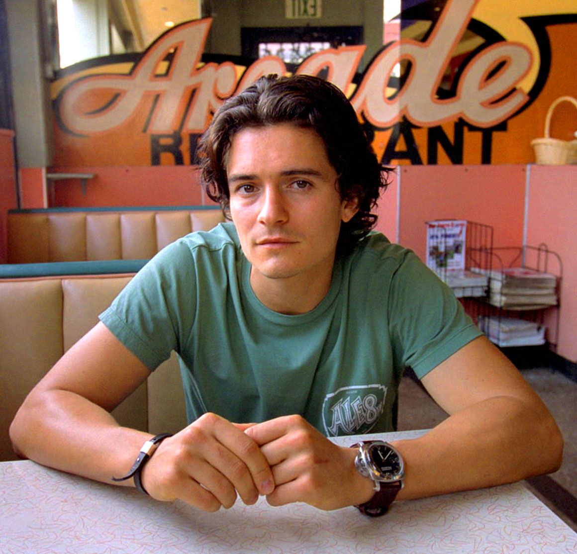 Welcome to home of jake 39 s panerai world orlando bloom luminor marina for Actor watches