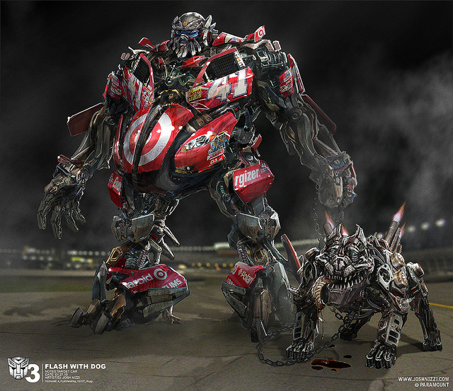 Nascar Crash Wallpaper: Top Ten 'Transformers: Dark Of The Moon' Concept Art