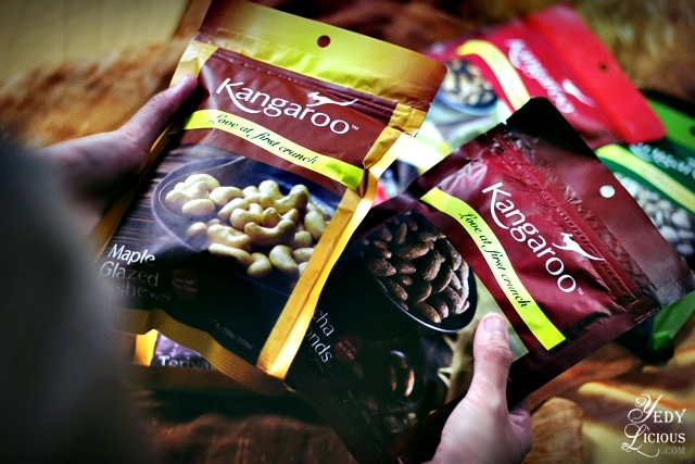 Kangaroo Nuts Healthy Snack Manila Singapore Indonesia Photography by Yedy Calaguas Maple Glazed Cashew and Mocha Almonds