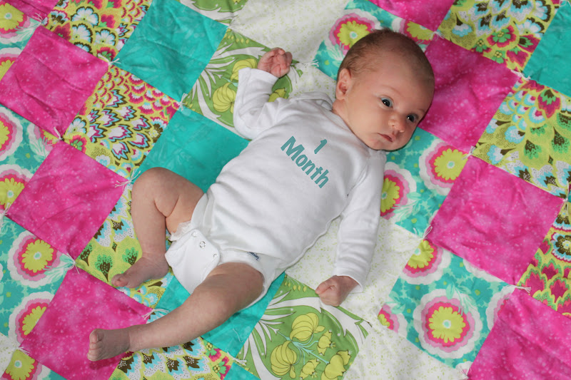 Charlotte at One Month