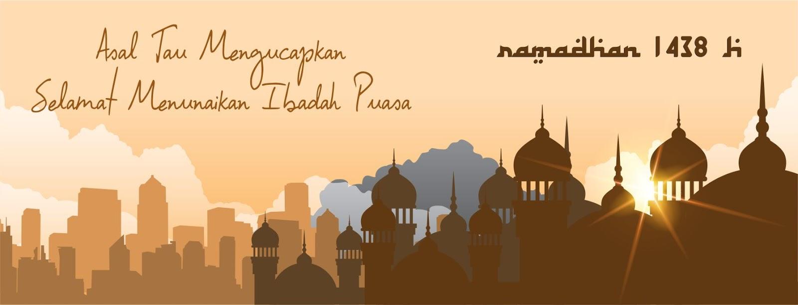 Download Desain Template Ramadhan - Asal Tau