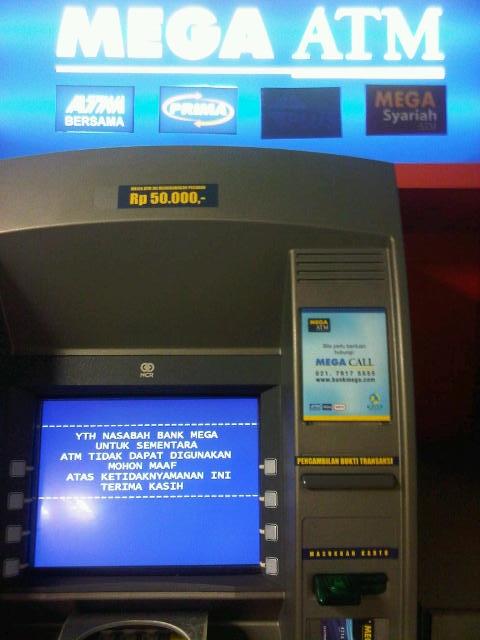 Info Daftar Alamat ATM Bank Mega Di Bandung - Info Bandung