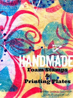 Handmade #FoamStamps & #Printing Plates Tutorial http://bit.ly/FoamStamps-PrintingPlates