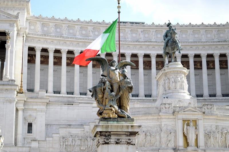 Забележителности в Рим - паметникът на Виктор Емануил II