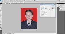 Cara Mudah Mengurangi Kapasitas Ukuran Pas Foto Menggunakan Photoshop di Mana Saja