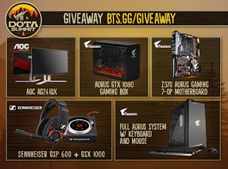 9 Gaming Monitor, GPU, MBO and Peripherals Giveaway | Free Stuff