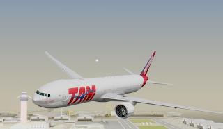 1 - MTA -  Boeing 777-300ER TAM