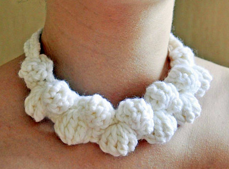 necklace crochet pattern crochet jewellery