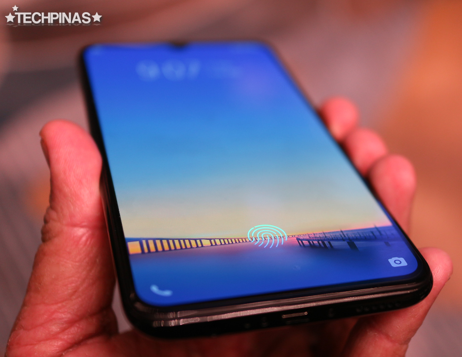 Vivo V11, Vivo In-Display Fingerprint Scanner