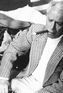 Samuel Fuller. Director of White Dog