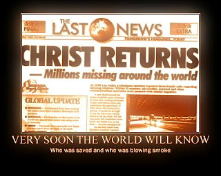 news paper about rapture of the saints