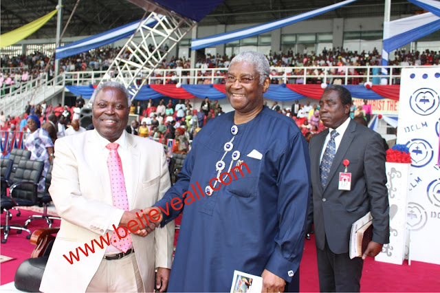 Photos of Pastor W.F.Kumuyi's crusade in Port Harcourt - #StillConnetedInRivers