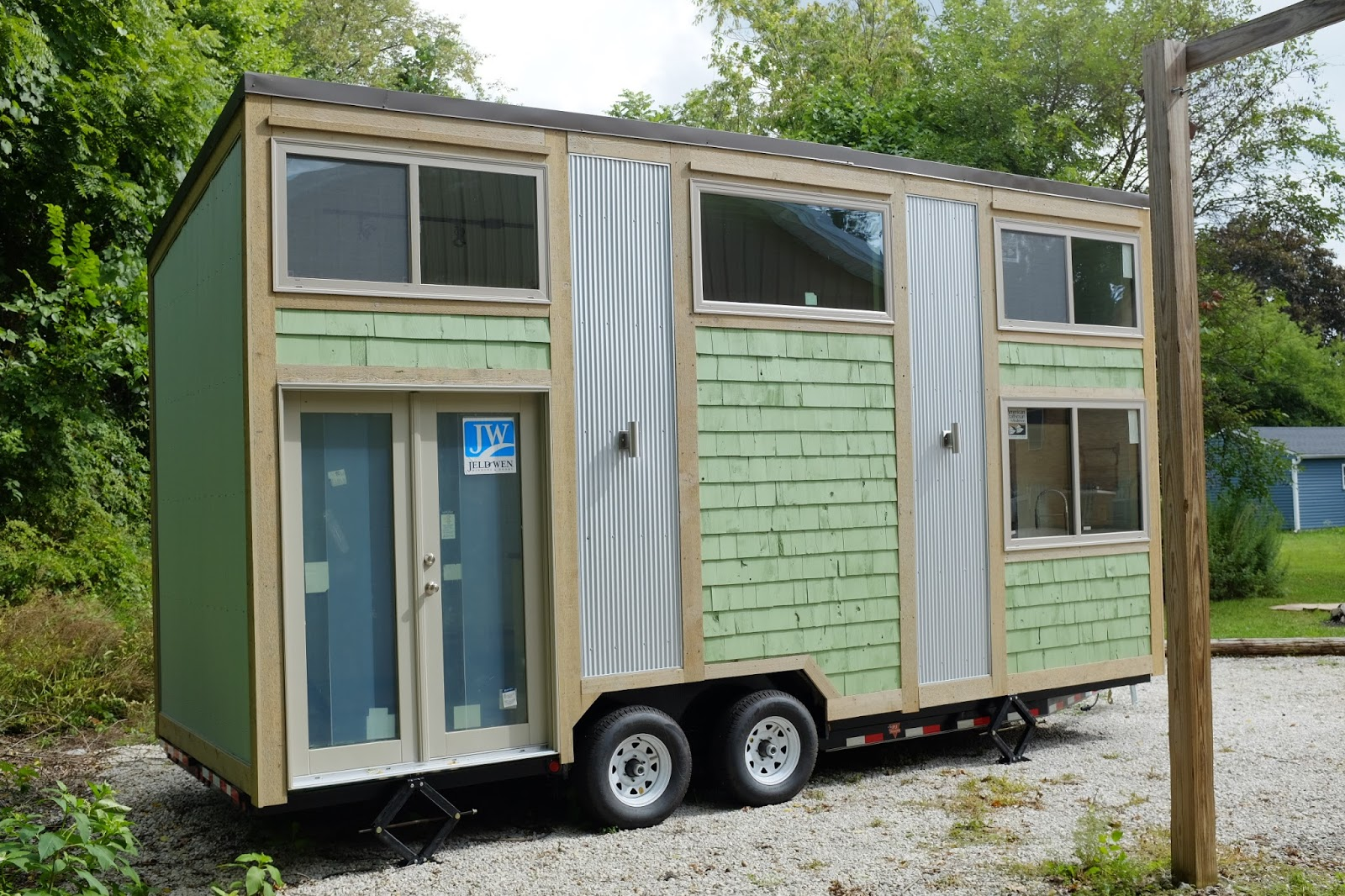 Chippewa Lake Tiny House (240 Sq Ft)