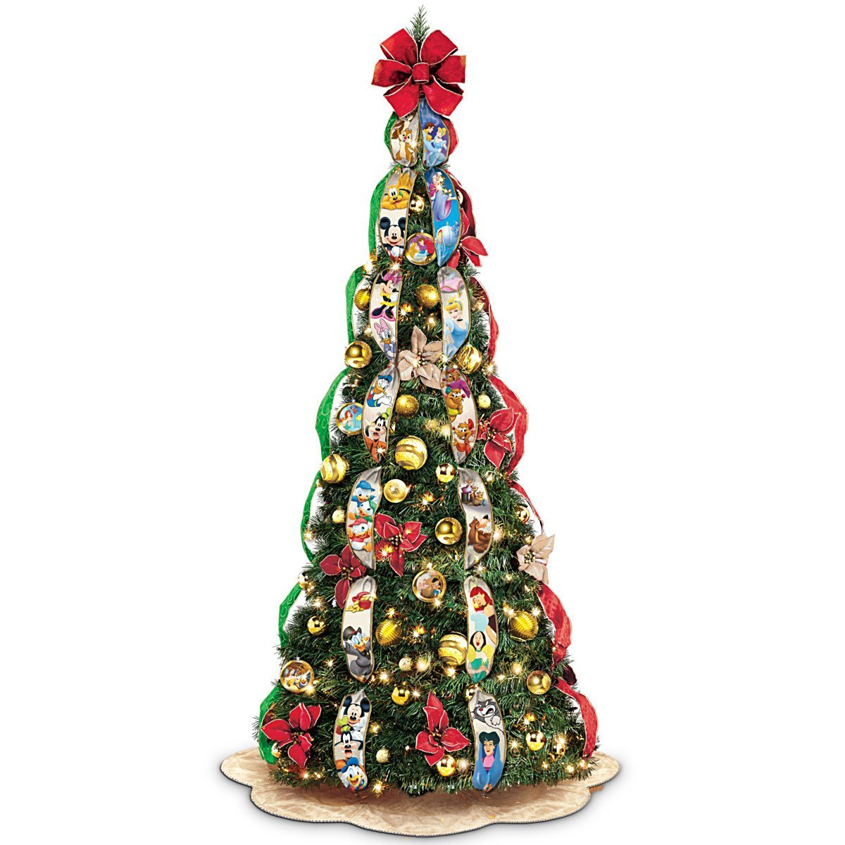 Pull Up Christmas Tree For Time Saving And Small Places